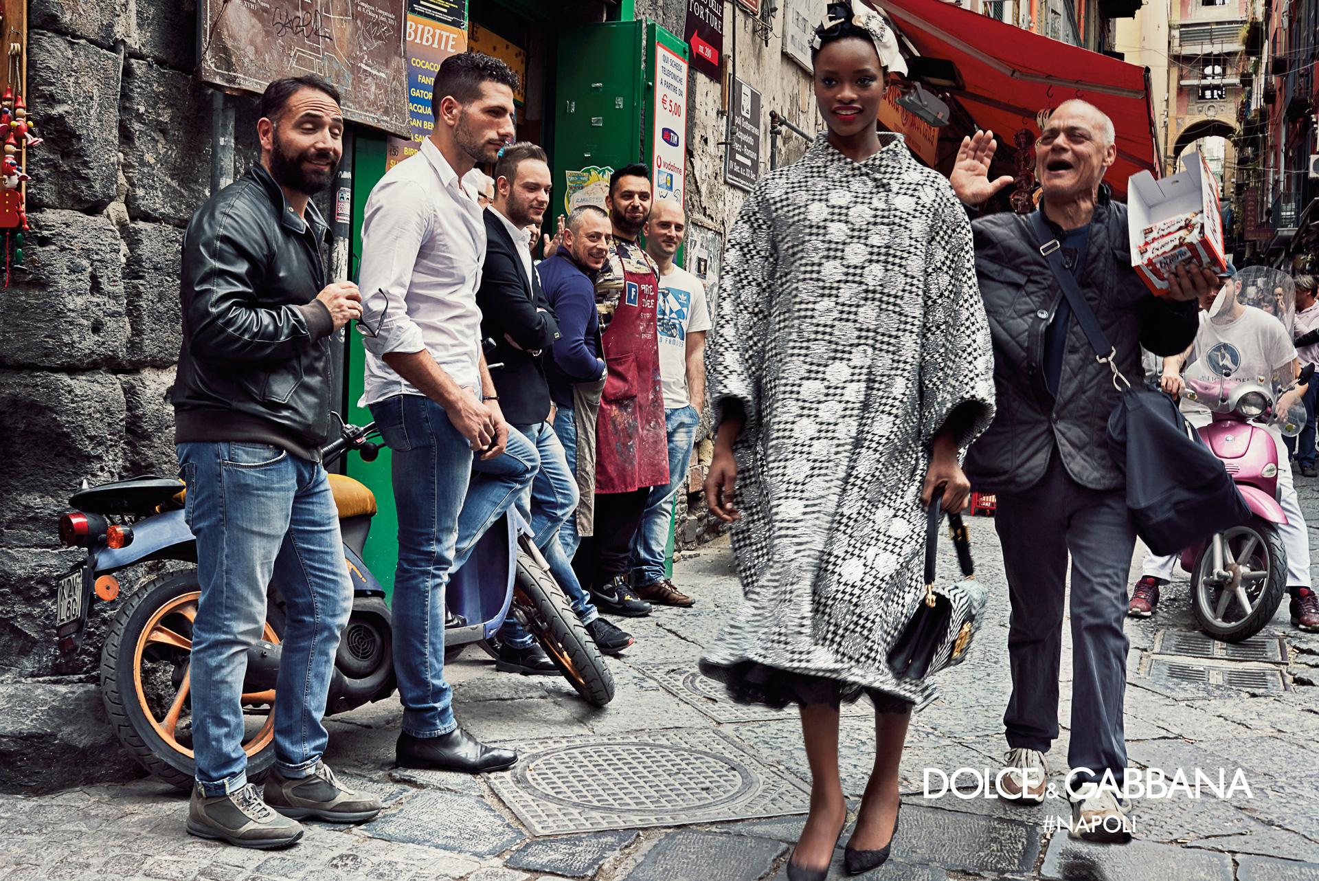 97e32e64 Dolce & Gabbana's autumn/winter 2016-17 campaign. Photograph by Franco  Pagetti.