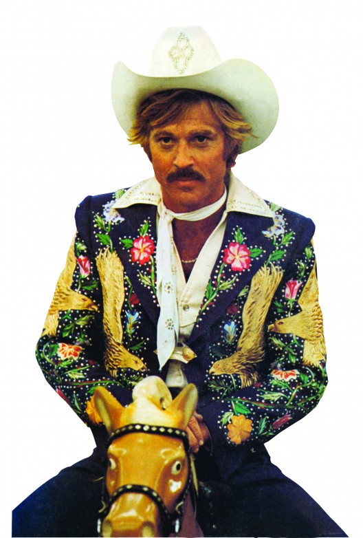 Robert Redford wears a Manuel Couture design in 1978's 'The Electric Horseman'