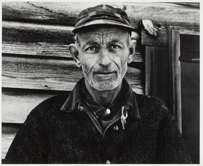 """""""Mr. Bennett, Vermont,"""" Paul Strand, 1940."""