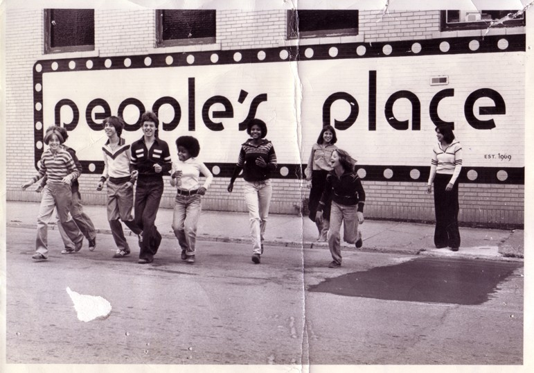 Tommy Hilfiger's first store, People's Place, opened in Elmira, New York, in 1971.