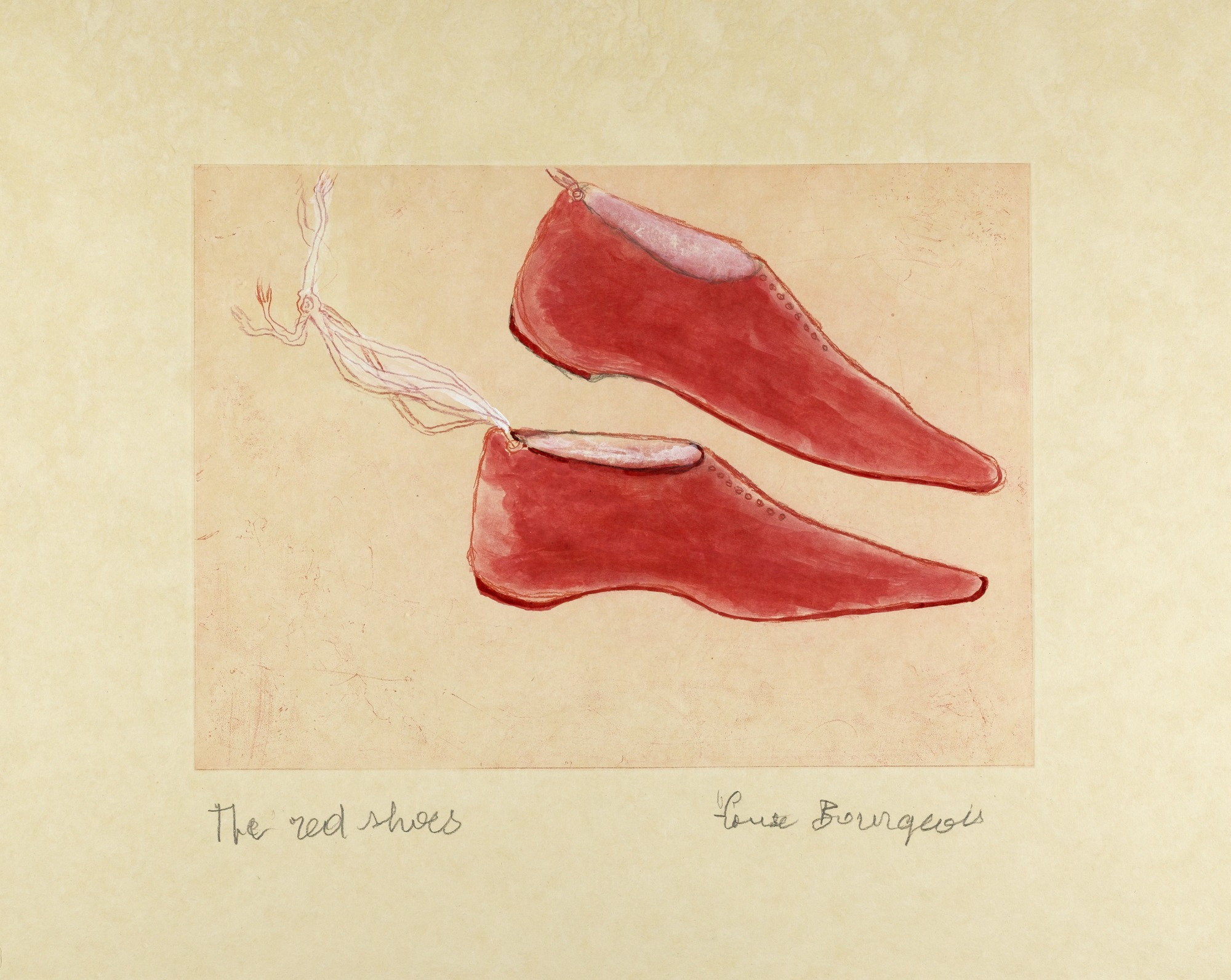 Louise Bourgeois, 'The Red Shoes,' 2005. Courtesy of the Museum of Modern Art.