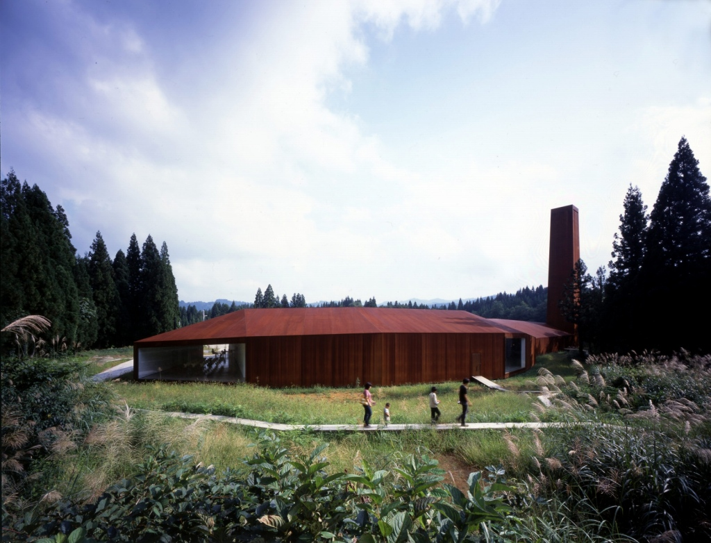 Tezuka Architect's Echigo-Matsunoyama Natural Science Museum in Japan.