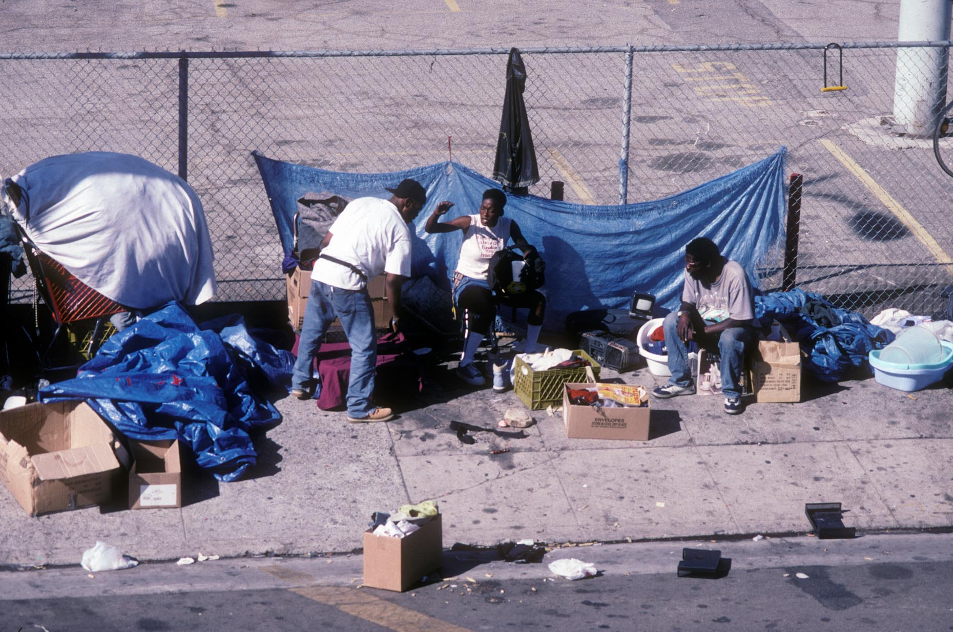 Skid Row, Los Angeles. By Camilo José Vergara.