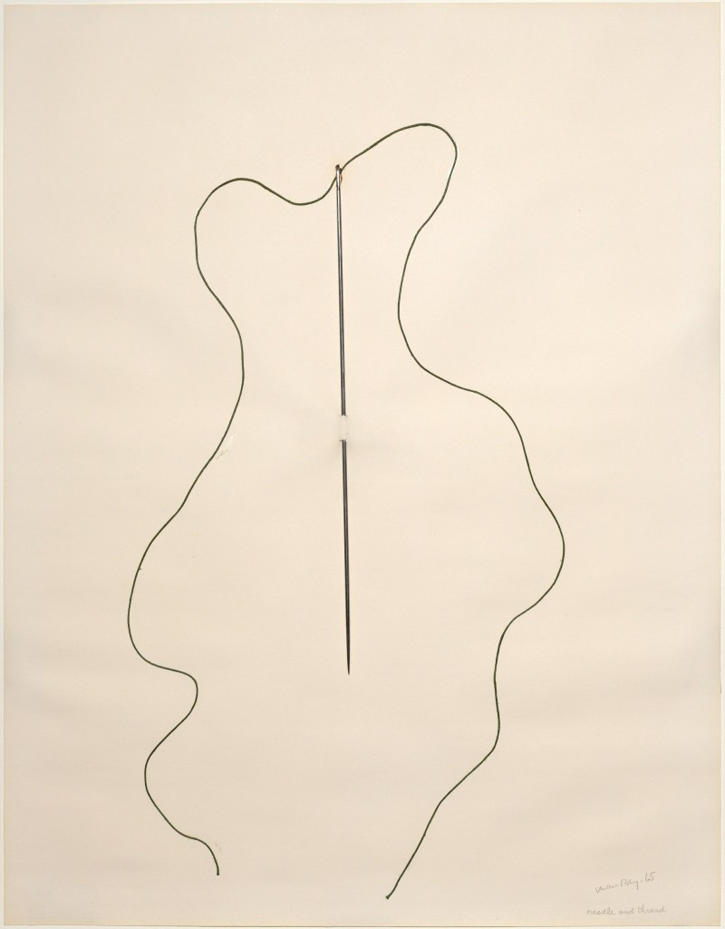 'Needle and Thread,' Man Ray, 1965. Courtesy of the Solomon R. Guggenheim Museum, New York.