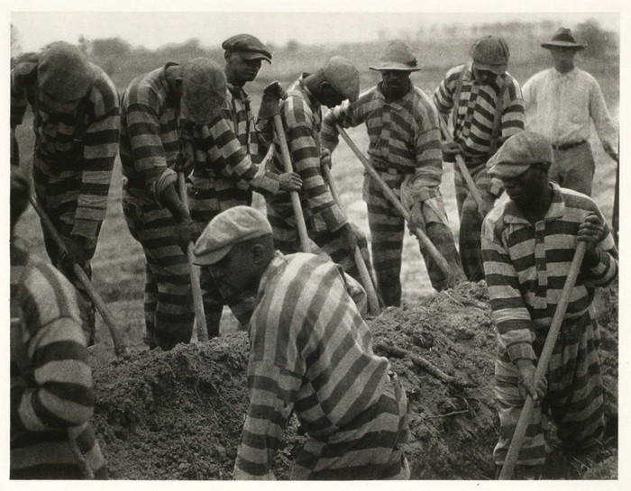 A Chain Gang in South Carolina, c. 1929 - 1931. Doris Umann. Courtesy of the International Center of Photography.