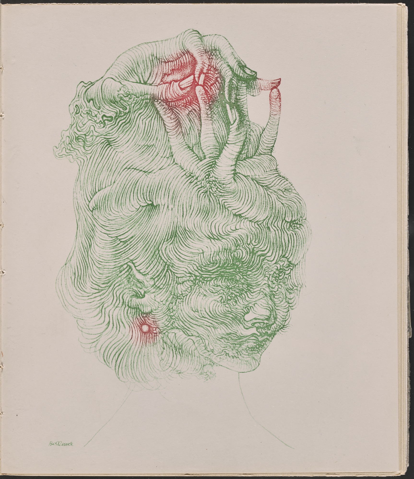 """The Hand Hat,"" Hans Bellmer, 1947. Courtesy of the Museum of Modern Art."